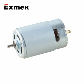 Durable 12 volt 63mm low power high efficient electric dc brush motor