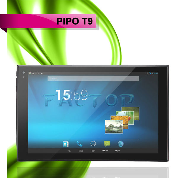 8.9 inch bluetooth tablet with GPS dual ACC dual path battery PIPO Talk-T9 Octa core tablet pc