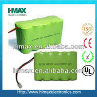 2.4V 7.2V 14.4V 400mah nimh battery pack