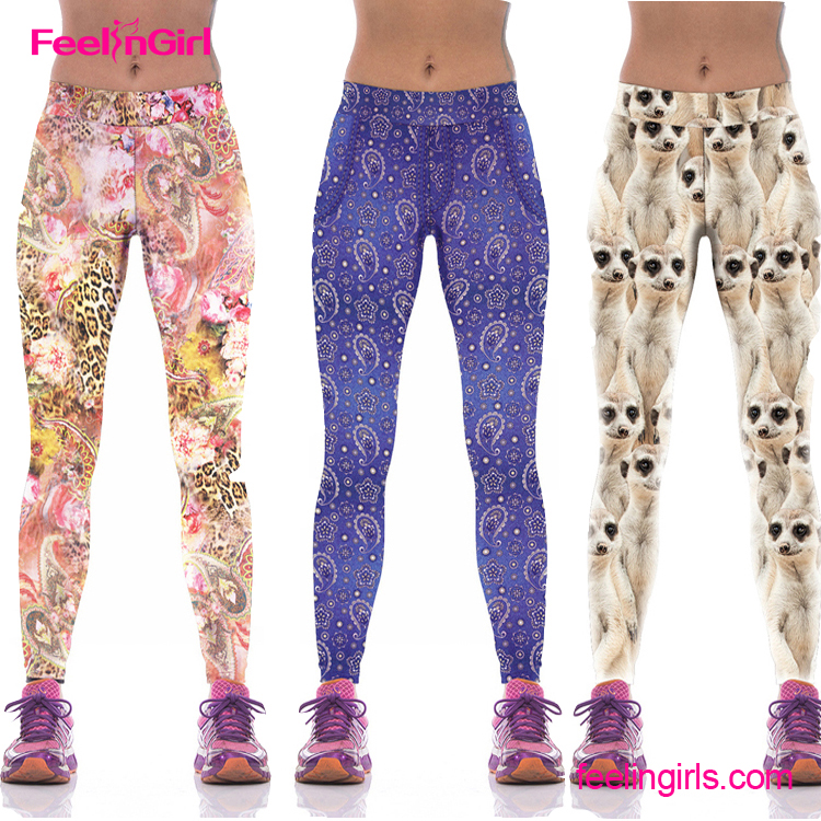 Cheapest Printed Pattern Pants Sexy Indian Hot Sex Tight Photos Legging For Women