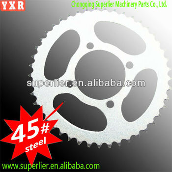 good performance motorcycle rear sprocket wheel,professional custom moto accessories part,forging industrial chain sprocket