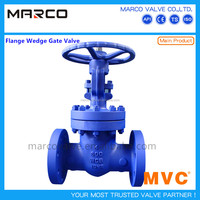 Professional supplied handwheel or gear operated forged or casted steel rising stem wedged gate valve