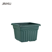 Square Shape plastic flower pot plant Container For Garden