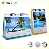 Instant Quote High Quality Table Top Calendar