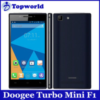 "In Stock Doogee Android Cell/Mobile F1 Turbo Mini F1 4.5"" Android 4.4 MTK6732 64Bit 4G LTE FDD Cell Mobile Phones 8MP 1GB 8GB"