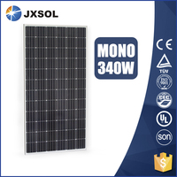China photovoltaic module 340W Monocrystalline price per watt solar panels For big project