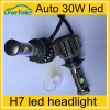 led bulb lights for auto 24 volt high power led headlight bulb h7 3000 lumen led bulb light