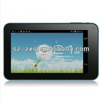 ZXS-Cheapest 7 Inch Dual Core Android 4.2 Tablet pc Allwinner A20 512MB/8G Dual Camera HDMI MID/Mini LAPTOP