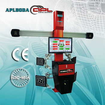 Garage tools -- Higher accuracy New 3D Camera Wheel Alignment Machine