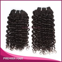 16inch virgin natural color culy quality good hair virgin brazilian black star hair weave