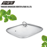 Cookware Parts smaller rectangle glass lid