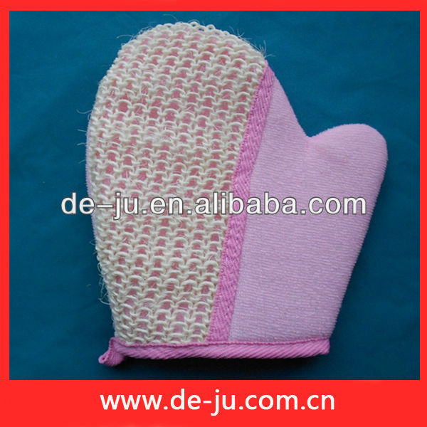 Promotion Bath Items Hand Scrubber Shower Glove Massage