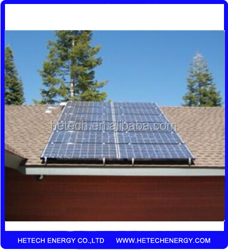 solar pv mounting system for ground installation 2000w Ongrid Solar Power for sale