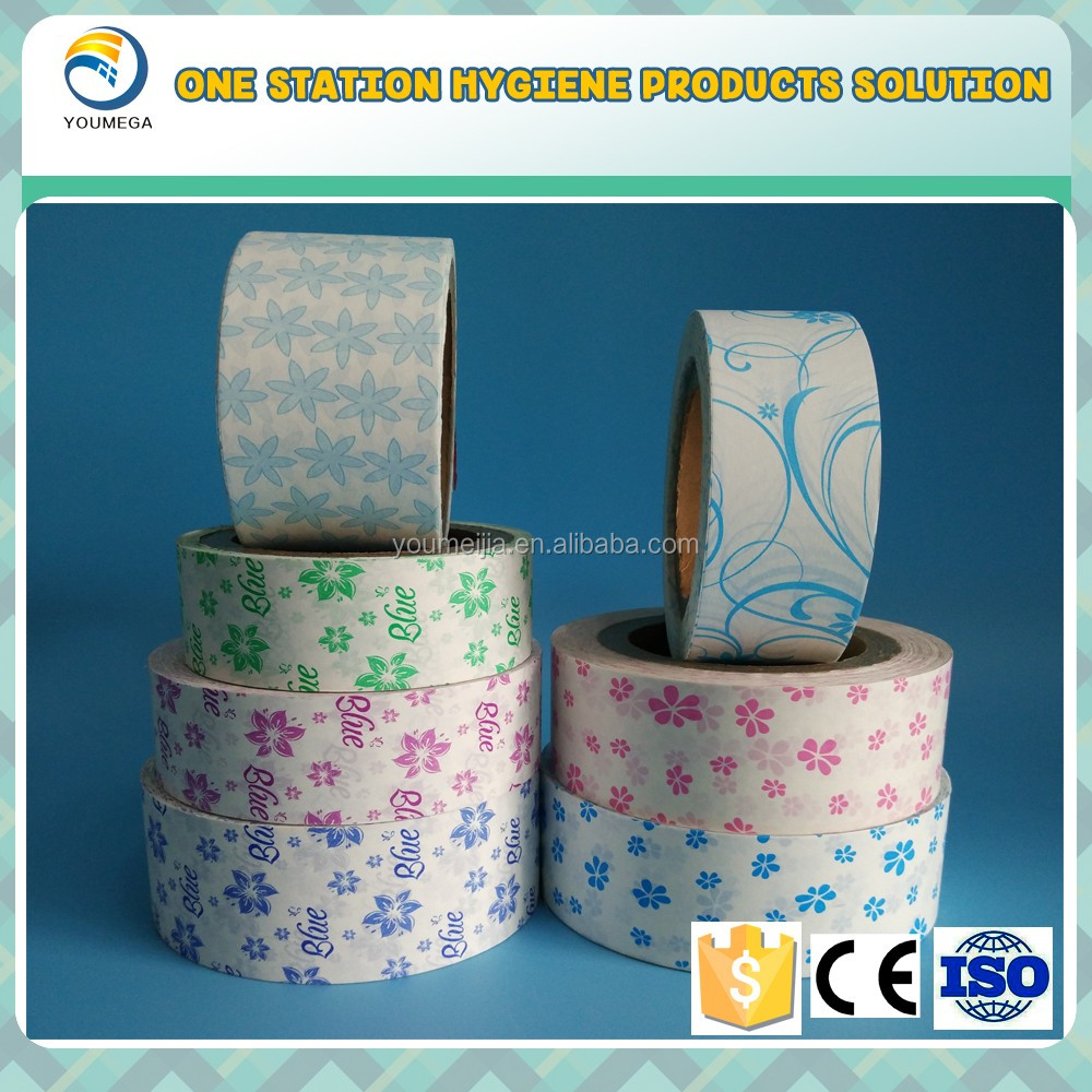 Good quality release paper silicone paper for sanitary napkins