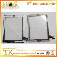 Wholesales Tablet PC Replacement LCD Touch Screen Digitizer For iPad 2,for iPad 2 Digitizer with Home Button Replacement