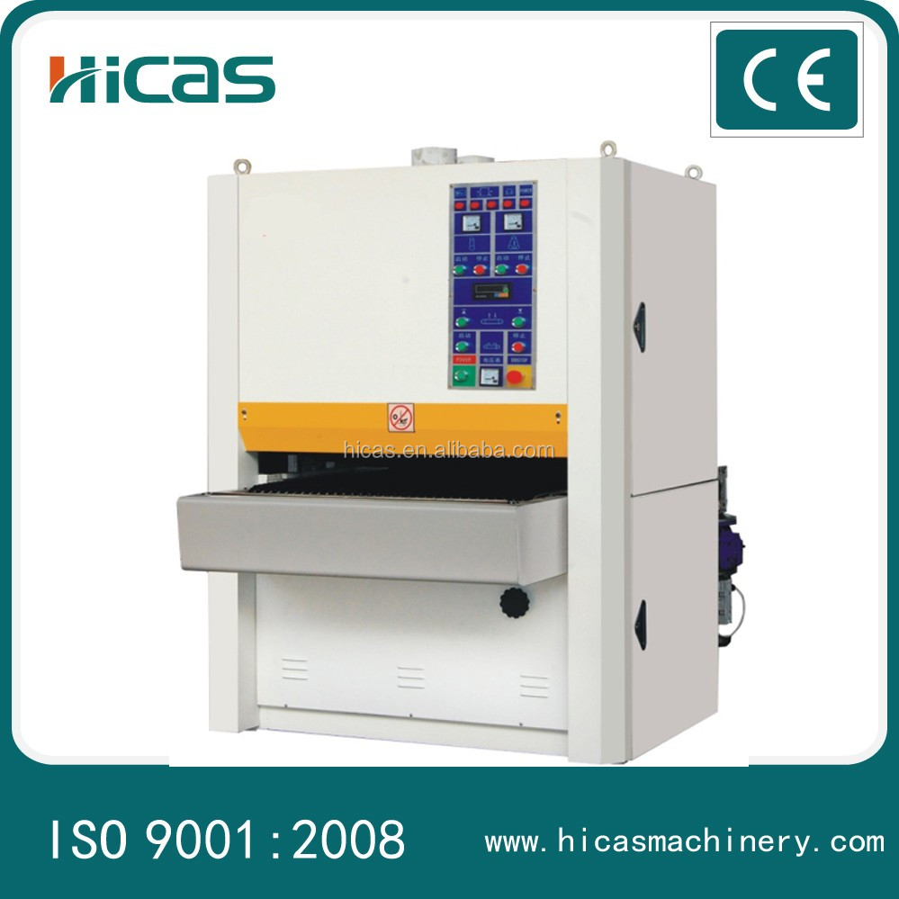 Hicas HCR-RP1000 wood board wide belt sanding machine for woodworking