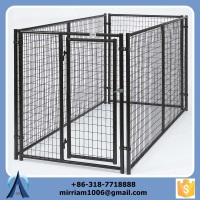 Durable and unti-rust galvanized big dog cage