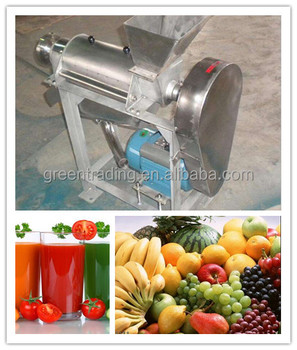 Multi functional tomatoes juicer