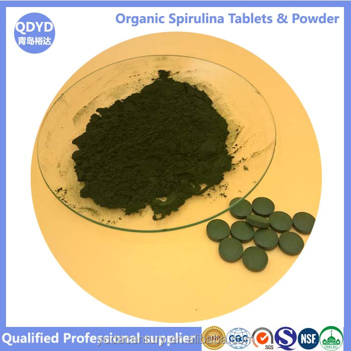 green natural spirulina slimming capsule
