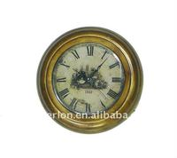 2011 New antique metal wall clock