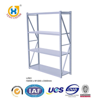 Alibaba Sales Supermarket Metal Light Duty Rack From China Supplier