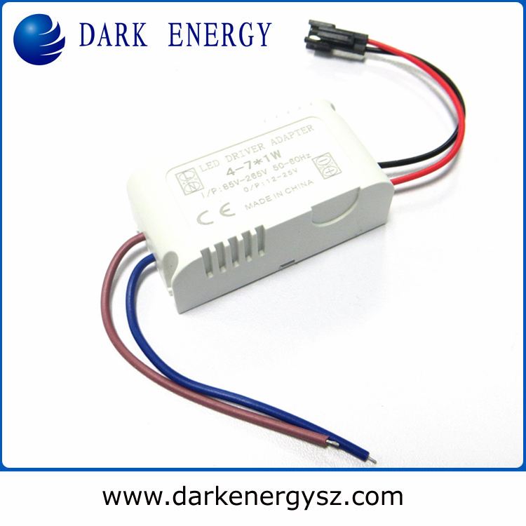 high quality led power 4-7w constant current 240/300ma with led panel light