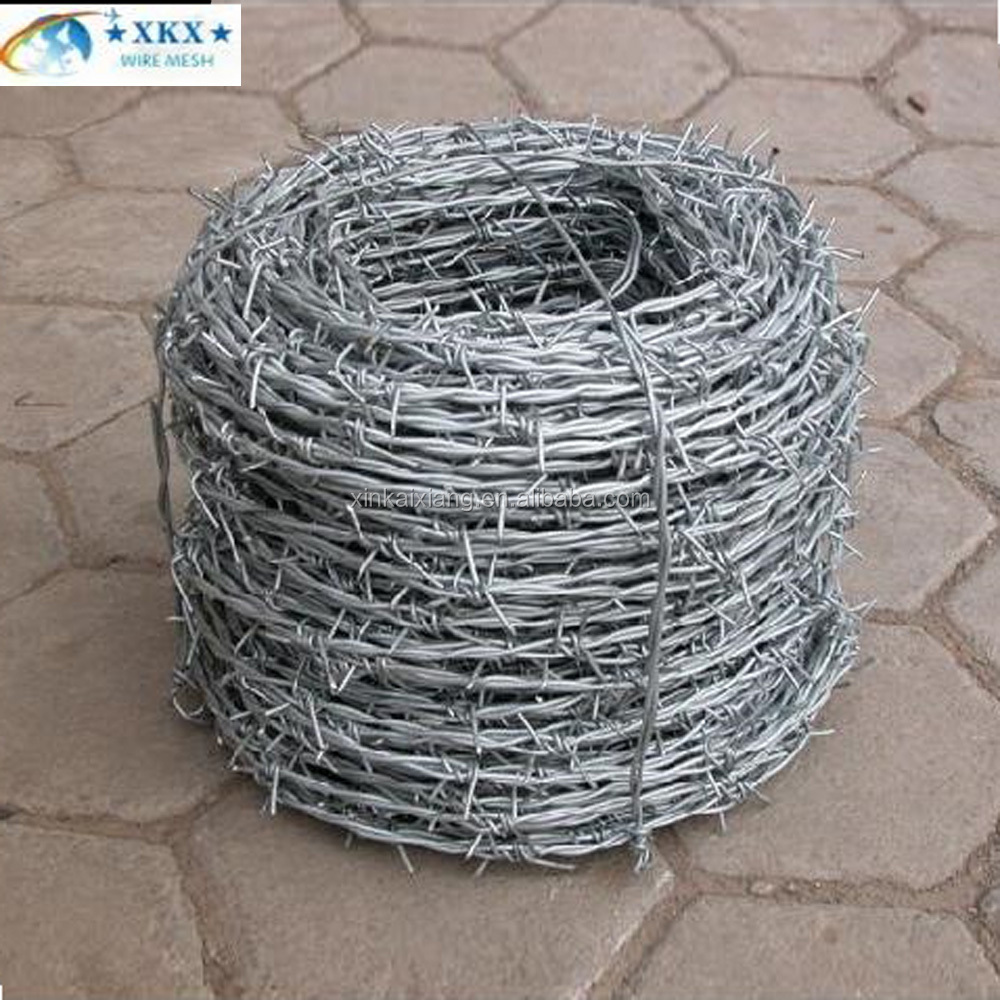 Chain Link Fence Top Barbed Wire/barbed Wire Manufacturers ...