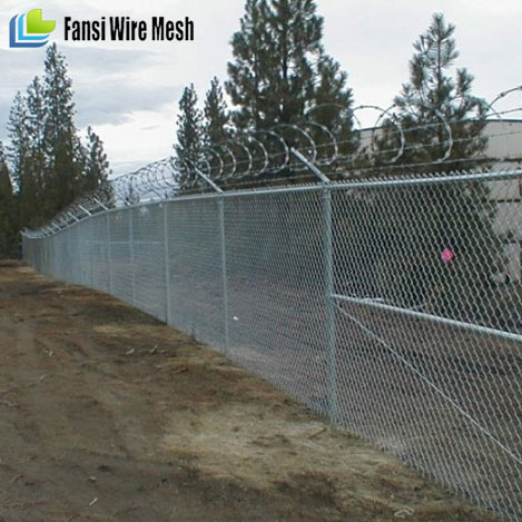 Hot sale Aliexpress 9 gauge 6 foot chain link fence
