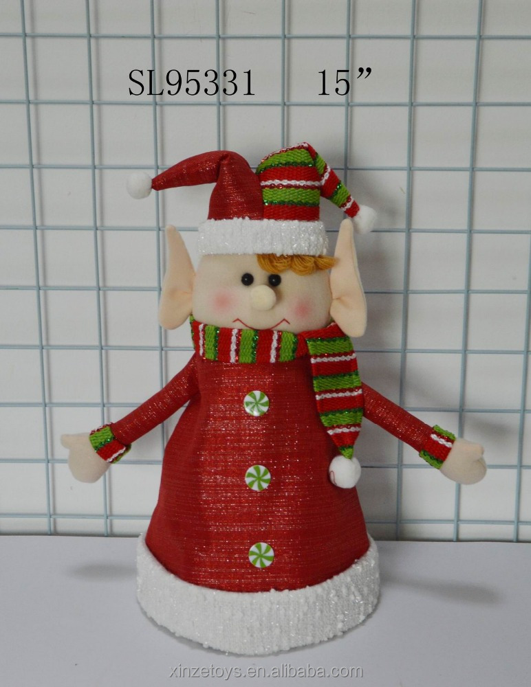 singing and dancing christmas elf hat holiday decoration