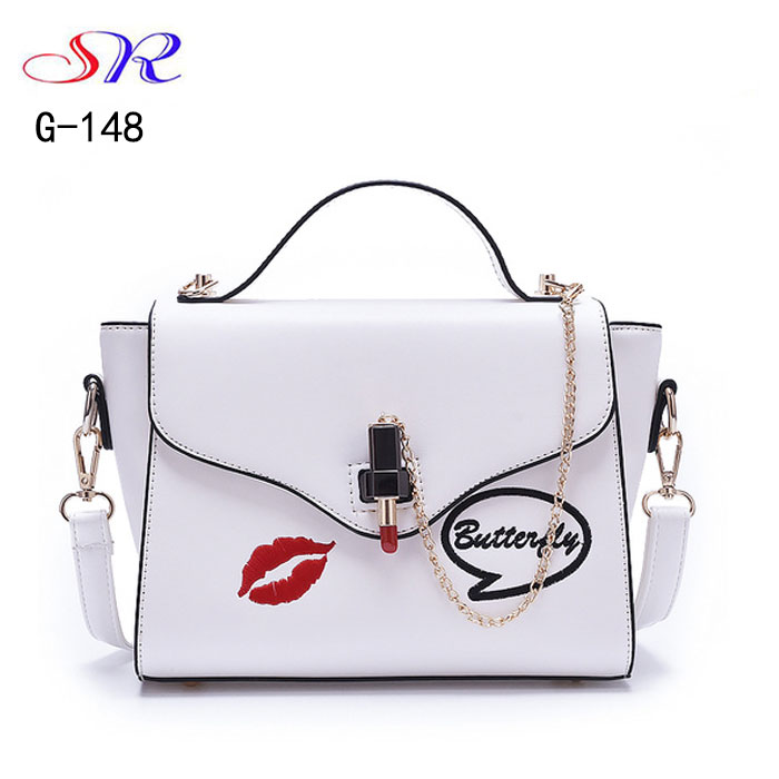 G-148 Guangzhou new fashion Show style handbag hand pu bag wedding favor bags