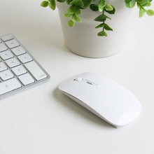 EXCO Computer accessories wholesale white 2.4g advanced optical wireless mouse