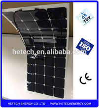 21% High efficiency Back contact flexible solar panels prices 120W sunpower cell made from China suppliers