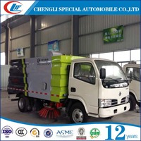 China road sweeper From China road sweeper truck 4X2 Road street sweeper truck for sale