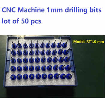 CNC machine grind milling bits head RT1.0 mm 1 mm diameter, lot of 50 pcs