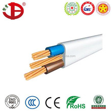 Building Wire PVC Insulated Cable 1.5mm Electrical Cables and Wires BVVB