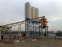 HZS90 Dry Mix Concrete Batch Plant with Low Investment