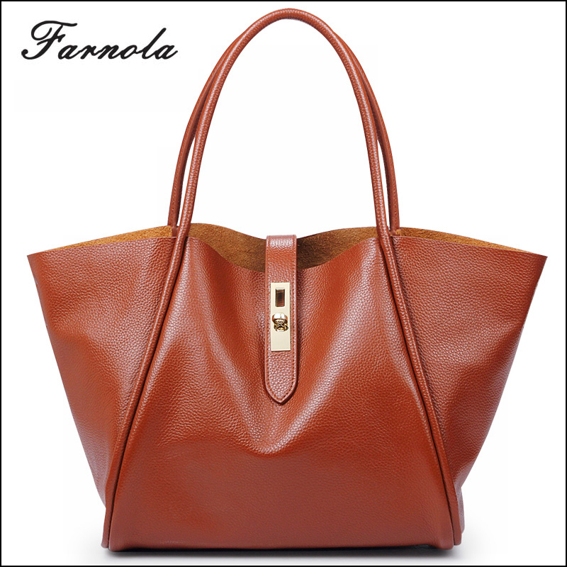 Guangzhou wholesale fashion hand bag genuine leather handbags women