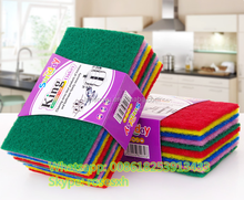 Hot Selling!!! New Type Colorful dish washing scouring pads, Scourer, Scrubber