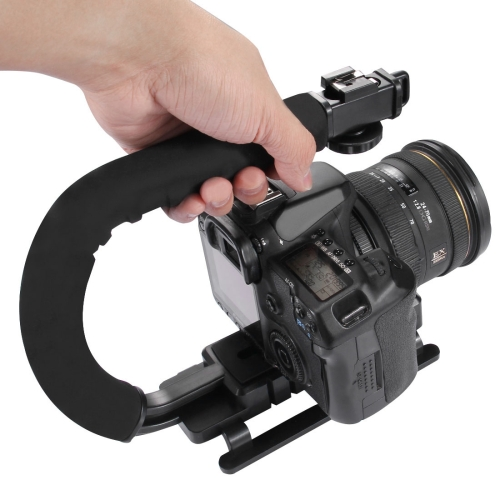Big stock Pay <strong>10</strong> get 11 handheld <strong>C</strong> Shape DV Bracket Steadicam Stabilizer for All DSLR Cameras with dhl fast shipping