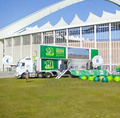 LED stage trailer for outdoor roadshow and advertising events from Linso Tech