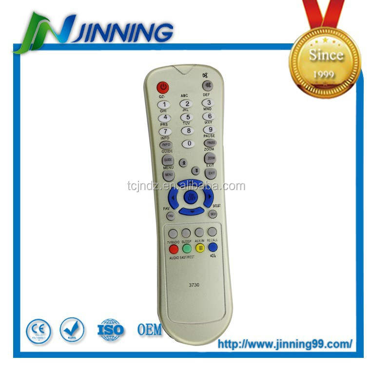 3730 tv remote control , satellite remote control, ROHS remote control codes