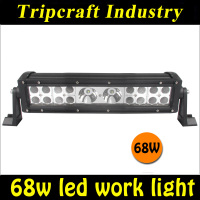 New coming 13.5 inch 68W LED LIGHT BAR rally Led Driving Light Bar from china led headlight,auto parts light
