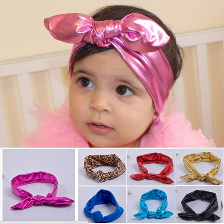 TOP SALE OEM design baby headband hair bows for wholesale
