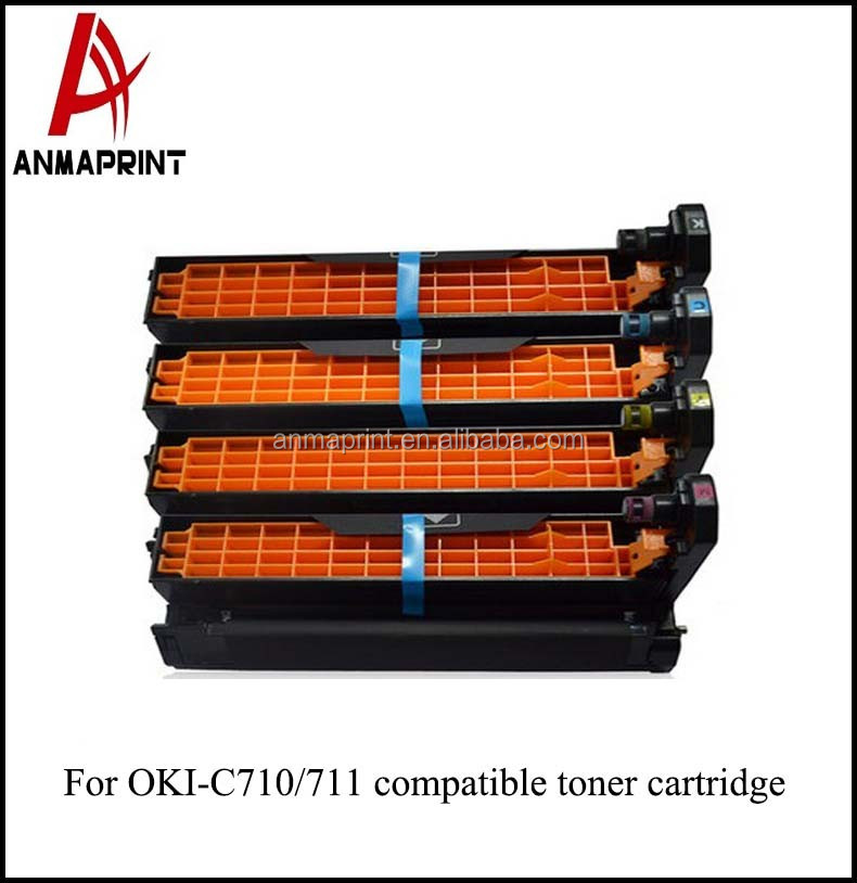 With original quality color C710 Laser Printer Cartridge compatible for Printers