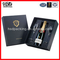 Wholesale OEM luxurious design 2015 new arrival custom wooden wine box