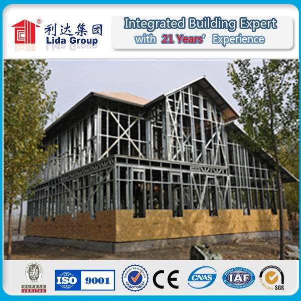 USA modern Prefabricated Light Steel Villa / House