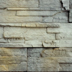 Wholesale rustic home decor concrete grey slate veneer types of exterior dry stone wall cladding