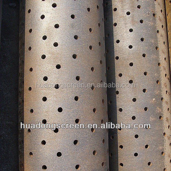 Irrigation well stainless steel 304 perforated filter tube for solid-liquid separation (manufacture)