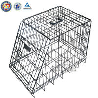 New type large metal wire dog cage,QQTinjin