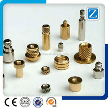 QZM-2046 Full Automatic Lathe Turning Machining Metal Mobile Nut Parts